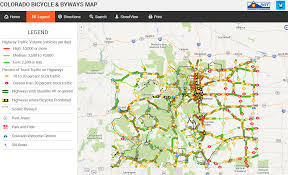 Colorado National Forest Map by Cdot Releases New Online Colorado Bicycle U0026 Byways Map Bicycle