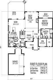 open floor house plans two 2 4 bedroom house plans exteriors and floorplans