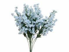 silk baby s breath 12 turquoise aqua blue baby s breath silk wedding flowers gypso