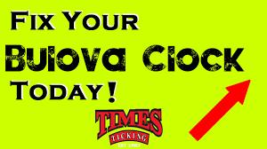 fix my bulova clock repair my bulova clock youtube
