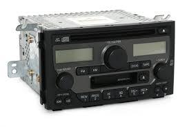 2003 2005 honda pilot am fm radio cd cassette player part 39100