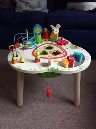 wooden activity table for early learning centre wooden activity table in putney london