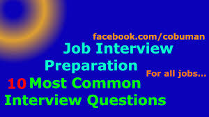 top 10 interview questions and answers job interview preparation