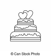 wedding cake outline stock images of wedding car icon outline style wedding car icon