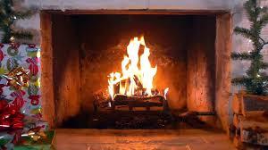 christmas fireplace brenda lee rocking around the christmas