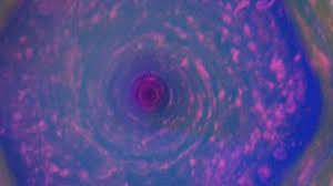 saturn sky pink nasa releases hd images of massive storm on planet saturn youtube