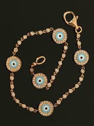 kay jewelers charm bracelets aaron basha yellow gold evil eye and diamond bracelet at london