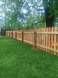 picket fences the fence guy of louisville durable wood fencing for yards of