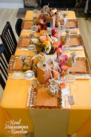 Stores Like Home Decorators by Kid U0027s Thanksgiving Table Decor Housewives Style
