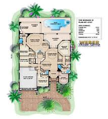 mediterranean house plans with pool 110 best mediterranean house plans images on home