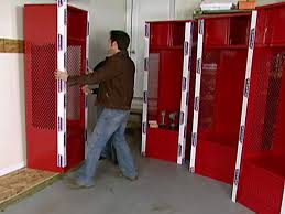 kids sport lockers garage sports locker diy