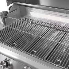 blaze 40 inch 5 burner built in natural gas grill with rear