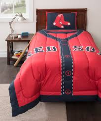 Covers Mlb Stats Sheet by Boston Red Sox Mlb Sidelines Room Comforter And Sheet Set Size
