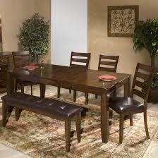 dining room sets for 6 6 piece mango wood dining room set by intercon wolf and gardiner