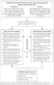 Seeking Text Longo Health Information Model Information Seeking Passive