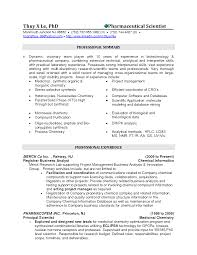 Sample Resume For Lab Technician by Professional Biochemist Resume Again A Summary Is Used As