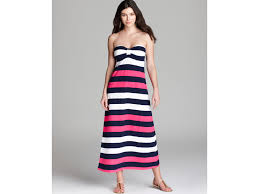martini stripe tommy bahama regatta bold stripe long swim cover up dress lyst