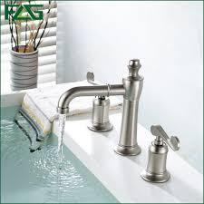 Brushed Nickel Bathroom Faucets by Online Get Cheap Nickel Bathroom Faucet Aliexpress Com Alibaba