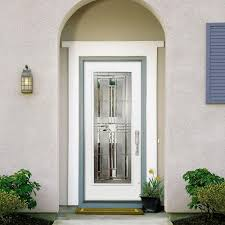 Exterior Steel Entry Doors With Glass Decor Cordova Lite Primed Premium Steel Home Depot Entry