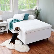 Queen Mattress Topper Bedroom Elegant White Queen Memory Foam Mattress Topper For