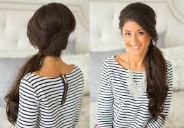 quick hairstyles for long hair at home 15 best ideas of long hairstyles at home
