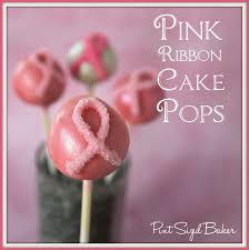 pink ribbon cake pops pint sized baker