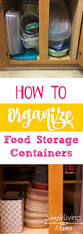 How To Organize Kitchen Best 25 Storage Containers Ideas Only On Pinterest Food Storage