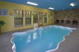 swimming pool room smoky mountain cabins with indoor pools