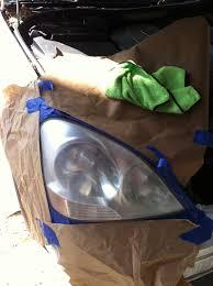 lexus uae forum restoring headlights to like new condition no kit allowed