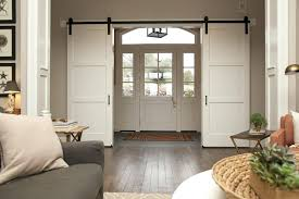 contemporary barn doors interior modern style wood sliding door