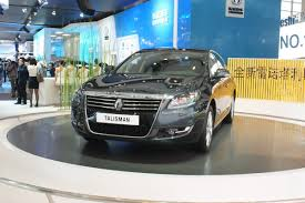 renault introduces talisman flagship saloon at the auto china 2012