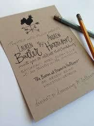 Paper For Invitations Kraft Paper Wedding Invitations Plumegiant Com