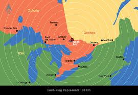 Map Of Montreal North Bay Maps Yyb Jack Garland Airport