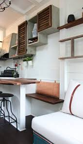 How To Build Stairs In A Small Space Tiny House Packs U0027farmhouse Chic U0027 Into 240 Square Feet Curbed