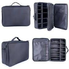 Professional Makeup Artist Organizer 2pcs Makeup Cosmetic Case Beauty Artist Storage Bag Holder