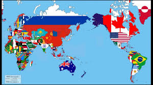 World Map Image by World Map Of Flags Youtube
