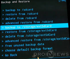 android restore how to backup and restore your android device using cwm twrp philz