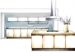 Architectural Design Kitchens by Kitchen Interior Design Drawing Palanibuge Pinterest