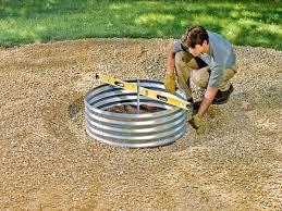 backyard fire pit regulations build a cozy firepit in your backyard
