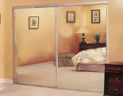 Sliding Closet Doors For Bedrooms by Glass Mirrored Sliding Closet Doors Mirrored Sliding Closet