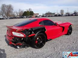 lexus v10 for sale 2013 dodge viper srt v10 wrecked project for sale