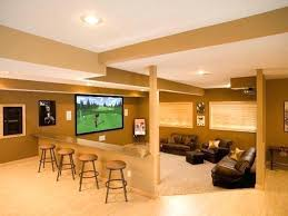 Home And Interior Entertainment Rooms Design Basement Room Ideas Interior Great