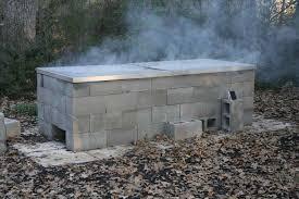 diy outdoor fireplace smoker wpyninfo