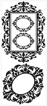 deco frames removable decorative wall decals wall2wall deco frames removable decorative wall decals