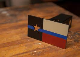 Hitch Flag Texas Flag Thin Blue Line Trailer Hitch Cover Steel Powder