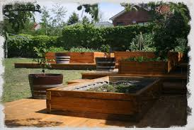 Raised Gardens You Can Make by Dovetail Timbers Raised Timber Garden Beds Dovetail Timbers