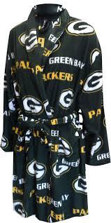 green bay packers ladies fleece robe walmart com