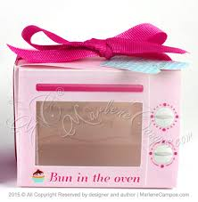 cookie box favors 50 sale oven favor box electric oven cupcake box pink