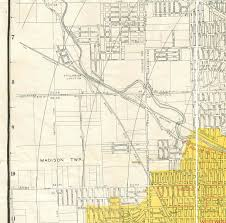 Map Dayton Ohio by 1945 Map Of Dayton Ohio