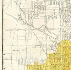 Dayton Ohio Map by 1945 Map Of Dayton Ohio